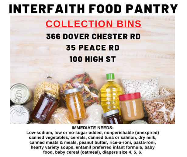 Interfaith Food Pantry in Morris Plains