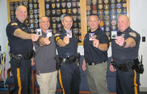 Police Department Trading Cards