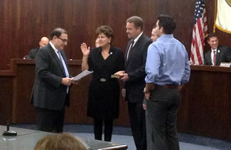 Township reorganization meeting January 1, 2014