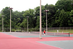 tennis at Brundage Park